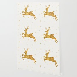 Golden Deer Wallpaper