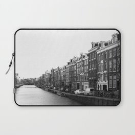 canal in Amsterdam Laptop Sleeve