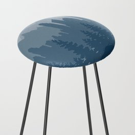 Planet Earth Counter Stool