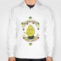lemongrab Hoodies featuring LEMON GRAB LEMONS by Alyssa Leary