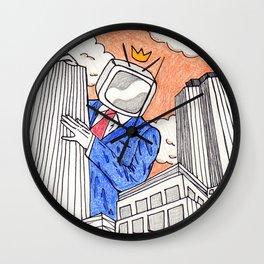 Corrupt Corporate Wall Clock