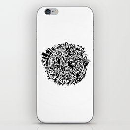 Doodleball iPhone Skin