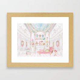 French Patisserie  Framed Art Print