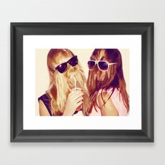 it girls Framed Art Print