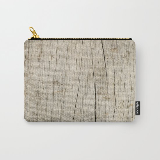 Old Wood Carry-All Pouch