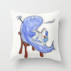 the whatwhale Throw Pillow