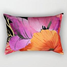 Flower Power – Poppy Style Rectangular Pillow