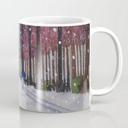 Winter In Paris Coffee Mug