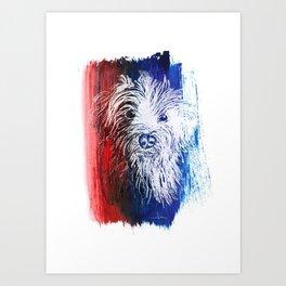 Chinese New Year - Dog Art Print