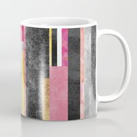 skyline Mugs featuring Skyline by Elisabeth Fredriksson
