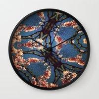 oriental Wall Clocks featuring Oriental by Shereen Yap