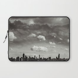 Chicago Skyline - Lone Cloud Laptop Sleeve