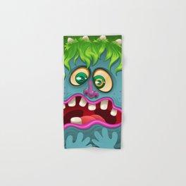Blue Monster Hand & Bath Towel