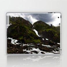 Norwegian Waterfalls Laptop & iPad Skin