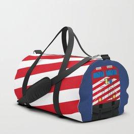 Red Train Duffle Bag