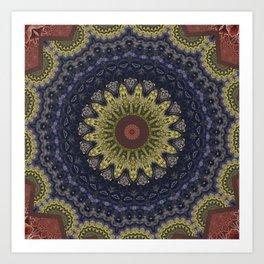 Better than Yours Colormix Mandala 5 Art Print