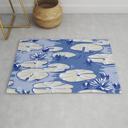 Monets Waterlilies, Giverny, France Rug