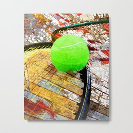 Tennis art 6 Metal Print