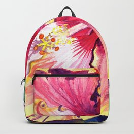 Tropical Hibiscus 13 Backpack