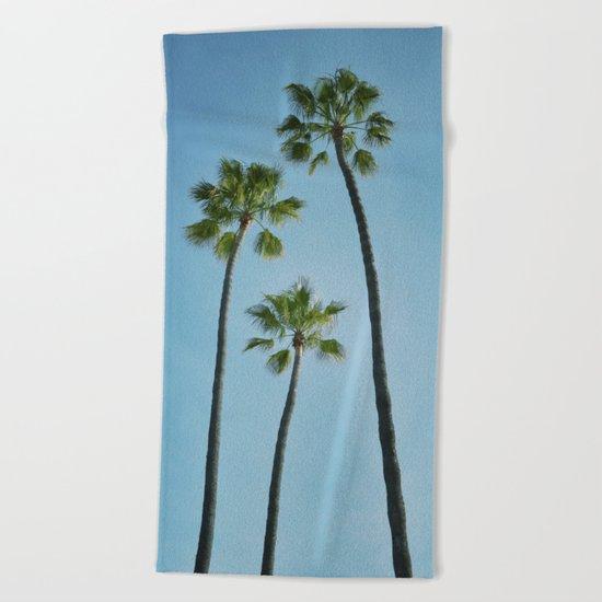 Three Palms Beach Towel