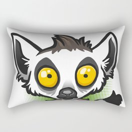 Ring-Tailed Lemur Rectangular Pillow