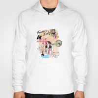 florence Hoodies featuring Florence, Italy by Olive Primo Design + Illustration