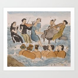Symphony of the Sea Art Print