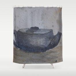 Teapot Shower Curtain