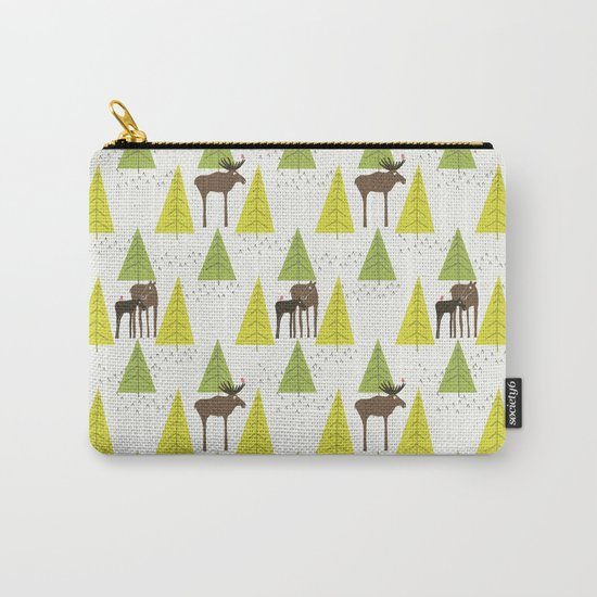 Moose Family 3 Carry-All Pouch