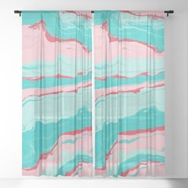layton. Sheer Curtain