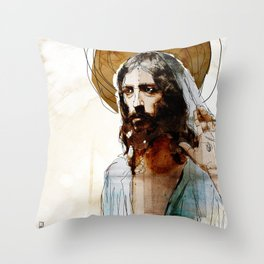 Shalom Aleichem/Peace Be With You Throw Pillow