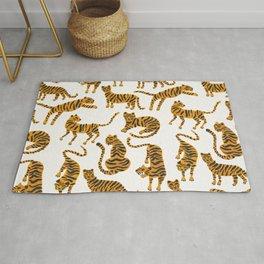 Tiger Collection – Orange Palette Rug