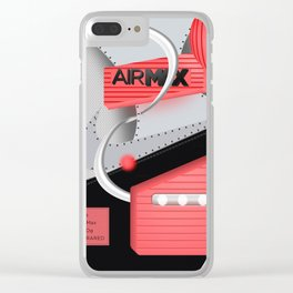Air Max Abstract 90 Sneaker Clear iPhone Case