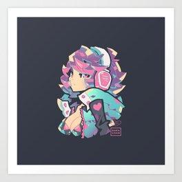 poly Art Print