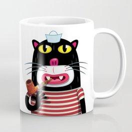 Sailor Kitten Coffee Mug