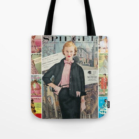 1955 Spring/Summer Catalog Cover Tote Bag