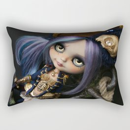 LADY BUCCANEER PIRATE OOAK BLYTHE ART DOLL Rectangular Pillow