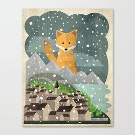 Benevolent Fox  Canvas Print