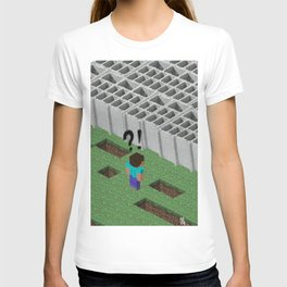 Mine craft reality T-shirt