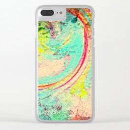Exploring Color Clear iPhone Case