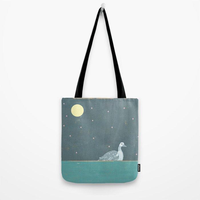 Night Swimming Tote Bag