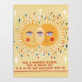 What a wonderful blessing Poster