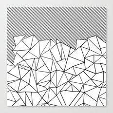 Ab Lines 45  Canvas Print