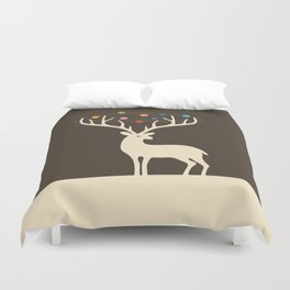 My Deer Universe Duvet Cover