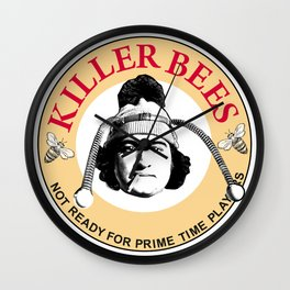 Killer bees: Not Ready for Primetime Players Wall Clock
