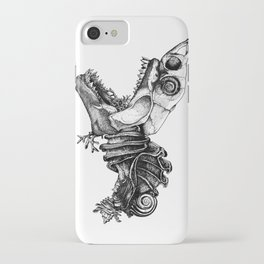 Prehistoric Bloom - The Fish iPhone Case