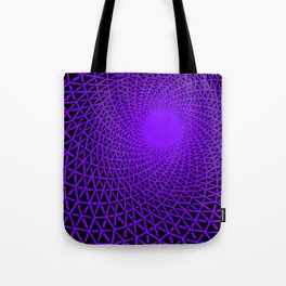 Hexagon immersion Tote Bag