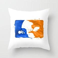 Major Ink League Throw Pillow