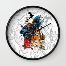 Time Waits For No Man Wall Clock