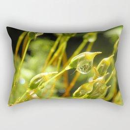 forest cover /Agat/ Rectangular Pillow